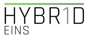 HYBRID Eins Logo